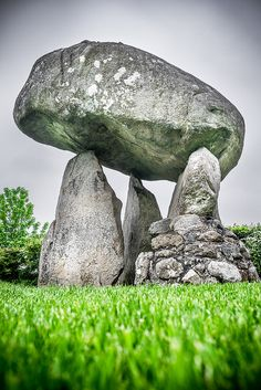 The Proleek Dolmen, CO. Louth, Ireland