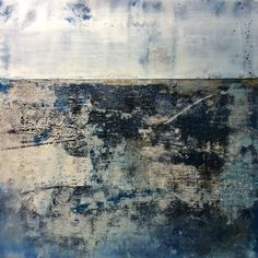 Stephanie Dalton | Lapis, 12x12 m/m encaustic #daltonprojects