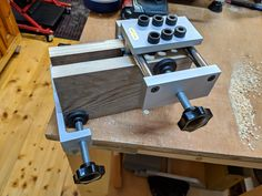 packers allow the doweling jig to work nicely for dowels in stock