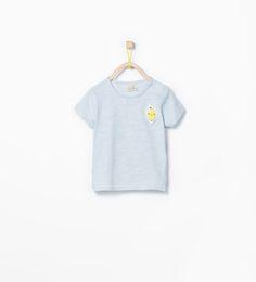 ZARA - KIDS - Fruit appliqué T-shirt