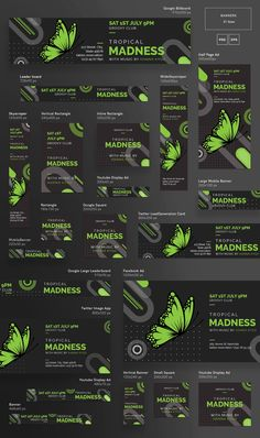 Promo Bundle | Tropical Madness - Amber Graphics | web banner, web banners, web banner design, web banner design inspiration, web banner design inspiration templates, web banner design ads, web banner design ads templates, web banner design website, web banner ads, web banner template, web banner template design, web banner ad design, banner, banner design, banner design ideas
