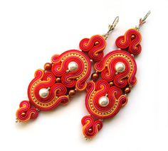 REDUCED PRICE!  WAS: 110$, IS: 90$. Check them out, amazing statement earrings. Perfect for summer.