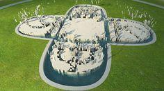 Wenda Gu, Landscape Plan