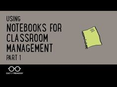 A simple strategy for using a notebook to get an out-of-control classroom back under control. Consider this the emergency flotation device of classroom management. See Part 2 for a more refined use of the same strategy.