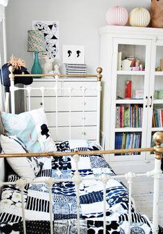 Kids room - #blue and #white #Kinderzimmer layout inspiration