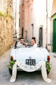 Amalfi Blues Wedding Inspiration | SouthBound Bride | www.southboundbri... | Credit: Anneli Marinovich