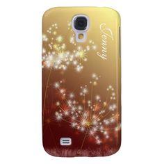 Fall Dandelion Chic Customizable Samsung Galaxy S4 Samsung Galaxy S4 Case
