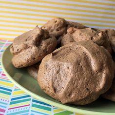 Low Carb Chocolate Meringue Cookies