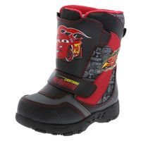 Boys' Cars Weather Boot, Black