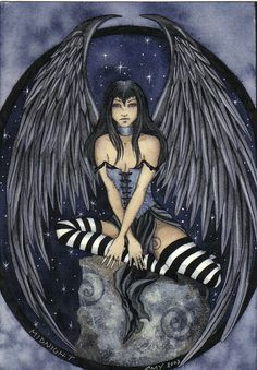 Amy Brown. This woman's artwork is inspiring my Faerie Tatttoo(: