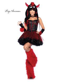 Rebel Monster Sexy Women's Costume