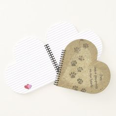 """Feel free to replace """"Pets"""" with """"Cats"""" or """"Dogs"""" or name of your pet, or any other text (or just delete it). More items with this design: www.zazzle.com/aura2000/paw+prints Paw Prints, Pet Gifts, Your Pet, Create Yourself, Notebook, Thing 1, Pets, Handmade, Free"""