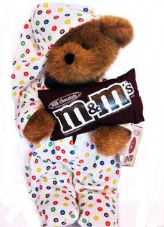 Boyds M Bear Cubbie McSnoozer in M Pajamas 2007 #919095 NWT HTF RARE Free Shipping