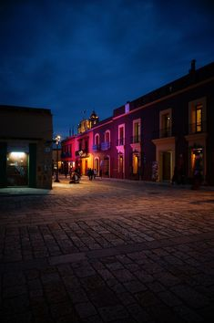 Oaxaca at night - Mexico