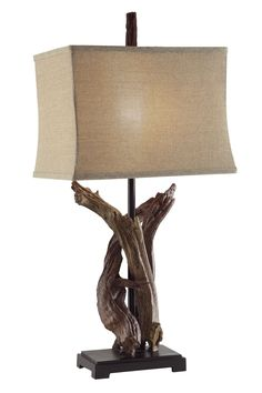 "Cascade-Chipita Park Twisted Drift Wood 33"" Table Lamp"