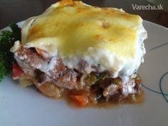 Netradičné zemiakové lasagne (fotorecept)