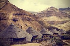 Maliba lodge, Thaba-Tseka, Lesotho — by Emma McEvoy Arctic Circle, Tropical Beaches, Beautiful Places In The World, African Culture, Historical Architecture, African Animals, Africa Travel, Continents, Where To Go