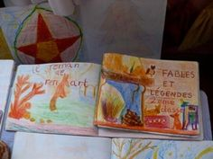 couvetures cahier fables