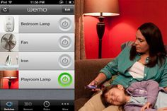 WeMo Switch - controlling lights and electronics from a smartphone