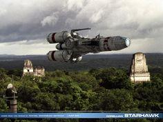 starhawk_over_massassi_rebel_base____by_