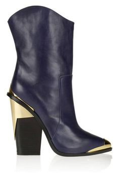VERSACE METAL-TRIMMED BOOTS  This mod take on the cowboy boot will delight even the biggest city-slicker on your gifting list.
