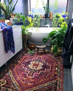 """Valencia"" Hand Loomed Vintage Persian Rug"