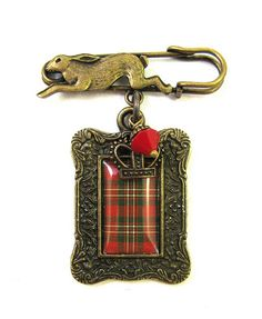 Ancient Romance Series - Scottish Tartans - Scott (Red) by DivaDesigns1, oh I love this!