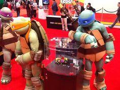 NYCC: Teenage Mutant Ninja Turtles Lego