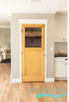 Distressed pantry door  Www.junkinthetrunkvintagemarket.com
