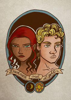 Greek Gods Print // Artemis and Apollo by LipsticKissPress on Etsy, $6.00