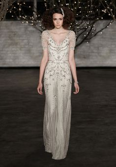 JENNY PACKHAM SS14 stunning Art deco 1920s inspired gown
