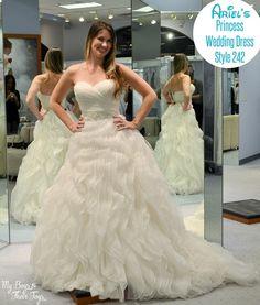 Ariel wedding dress style 210 alfred