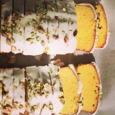 JR's Gluten free Lemon and Pistachio Cake