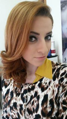 Make e cabelo lindo!!!!
