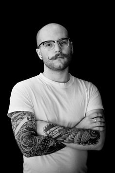 BW Portrait of my Bro-in-law for a tattoo portrait project I am working on.  #portrait #tattoo #ink