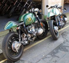Boxer cafe racers