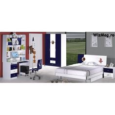 Dormitor Tineret 816 pentru baieti Furniture, Home Decor, Decoration Home, Room Decor, Home Furnishings, Home Interior Design, Home Decoration, Interior Design, Arredamento