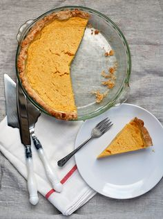 // Buttermilk Pumpkin Pie