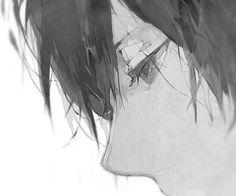 grafika anime, manga, and boy Anime Boy Smile, Sad Anime, Cute Anime Boy, Anime Guys, Oc Manga, Manga Boy, Manga Anime, Anime Art, Reborn Katekyo Hitman
