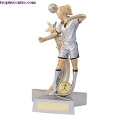 For girls who are fab footballers! #Womensfootball #ladiesfootball trophy! From just £9.99.. BARGAIN   http://www.trophycentre.com/star-lady-header/p4800/
