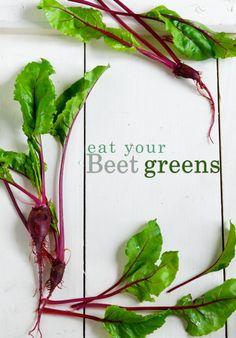 Beet Greens and Goat Cheese Crostini
