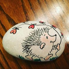 draw on and paint rocks