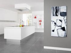 Decorative Screen Printed Glass | Screen printed glass Radiator / decorative radiator SOLE - NOVELLINI