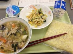 Can you eat Japanese food?  It's more than just sushi.  School lunch in Japan #2