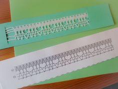 sakkoさんはレース編みの次のステップ、違う型どうしをハーチェックでつなぐテクニックが始まりました。よく編めていますね。16/20161003