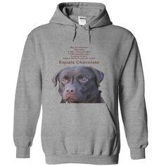 Chocolate Labrador T-Shirts, Hoodies. Get It Now ==> https://www.sunfrog.com/Pets/Chocolate-Labrador-Hoodie-63261598-Guys.html?id=41382