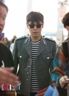 TOP (Choi Seung Hyun) ♡ #BIGBANG - To Singapore for F1 Grand Prix (September 19, 2013)