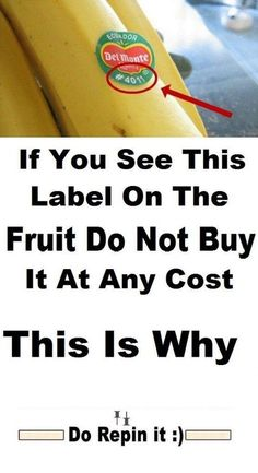 If You See This Label On The Fruit Do Not Buy It At Any Cost ► Zinc Deficiency, Frankincense Oil Uses, Banana, Lemon Benefits, Fruit, Food, Health, Salud, Eten