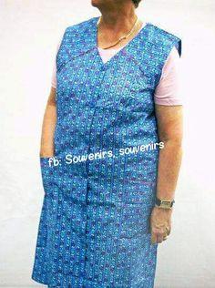 Ma grand-mère et sa blouse, que de souvenirs!