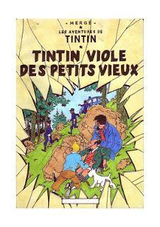 Rrrroh Tintin !! Quand même ! C'est Tournesol qui va prendre cher !